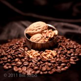 Walnut Flavored Coffee Beans